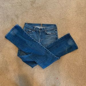 Women's 7 for all Mankind Jeans 39x32 bootcut